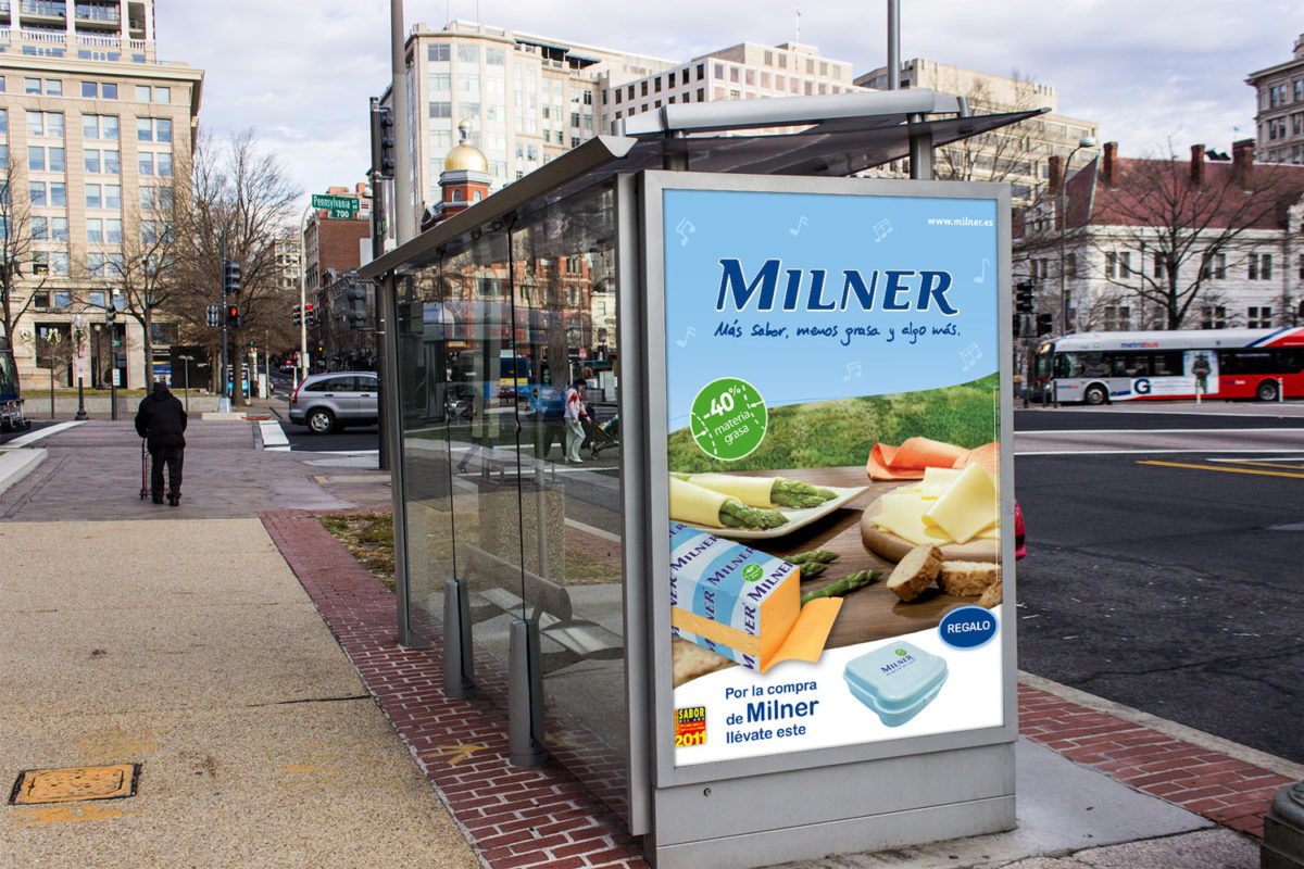Milner carteleria promocional