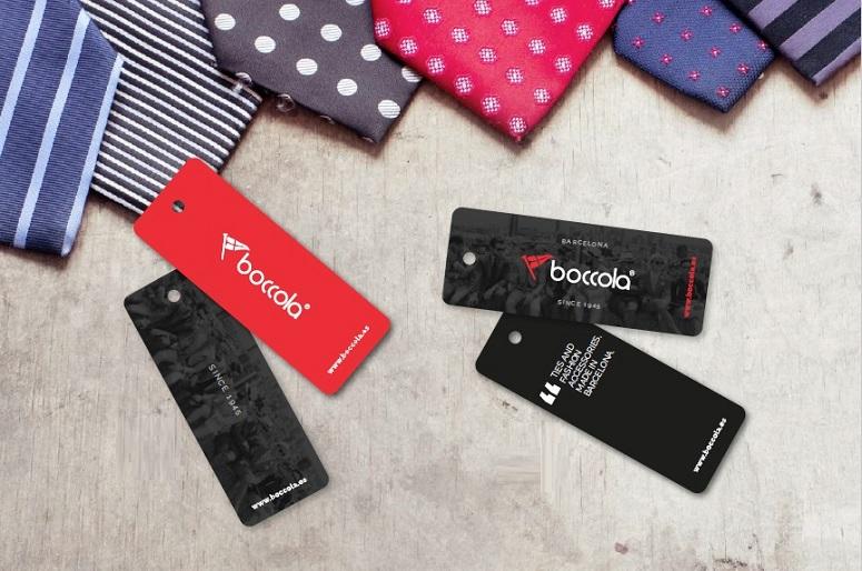 handtags etiqueta producto BOCCOLA
