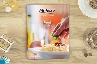 catálogo corporativo Maheso Foodservice