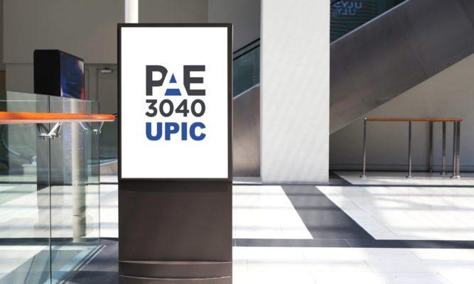 Logotip PAE3040 - UPIC